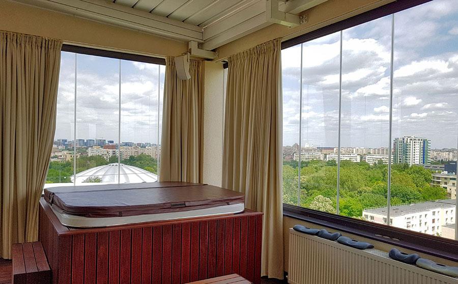 Sisteme cu geamuri mobile pentru inchideri terase si balcoane