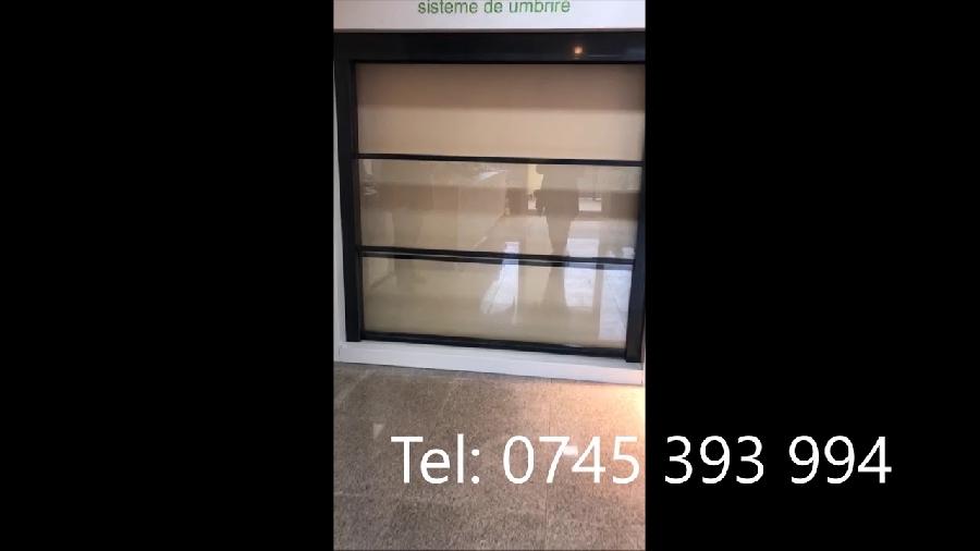 Inchideri balcoane cu geamuri glisante automate cu telecomanda