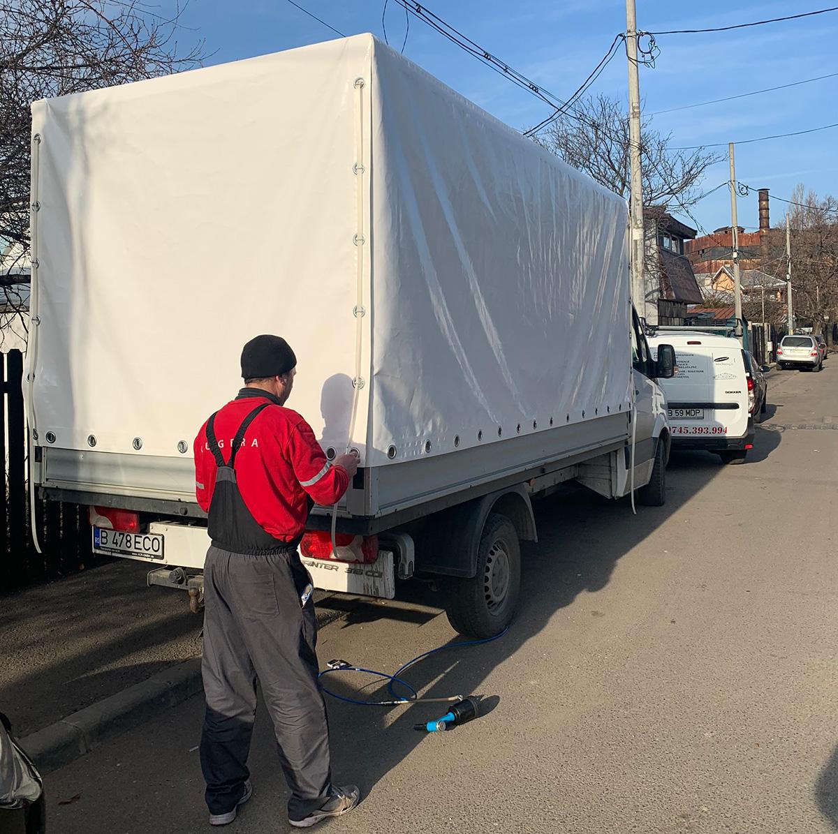 prelata camion