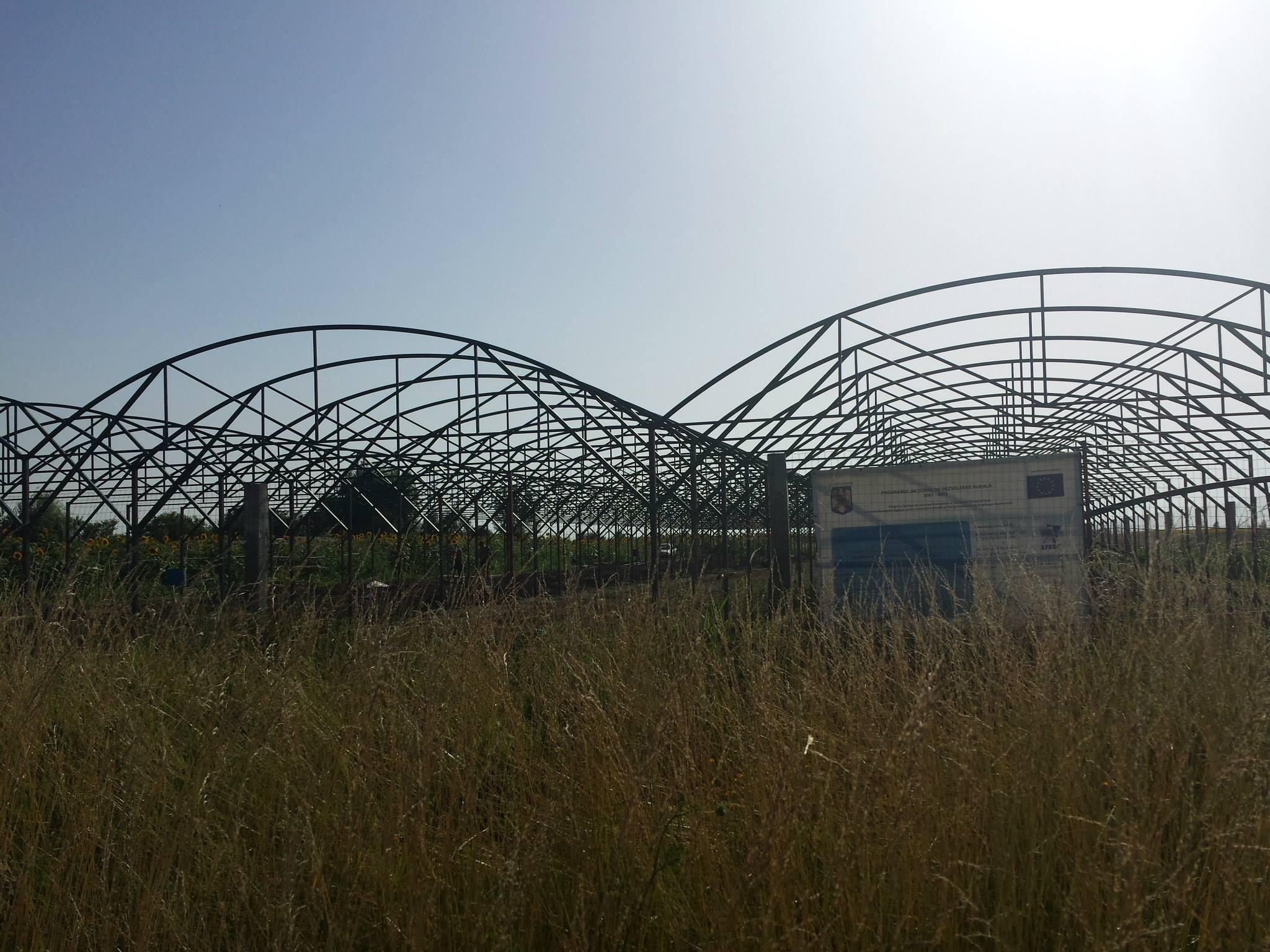 solare structura metalica