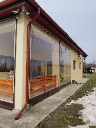 inchideri de foisoare balcoane si terase cu rulouri transparente cu rulare pe tambur