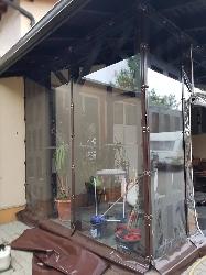 prelata terasa transparenta