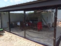 prelata transparenta pentru terase