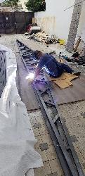 copertine fixe structura metalica acoperite cu prelata