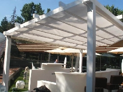 modele pergole metalice retractabile